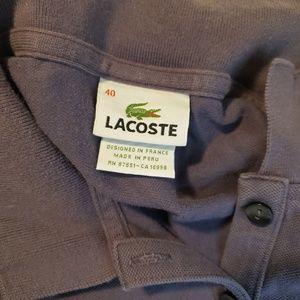 Lacoste Tops - Lacoste Women's Long Sleeve Polo Size 40
